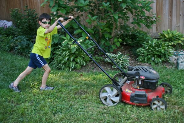 Lawn Mower Safety for Children and Families