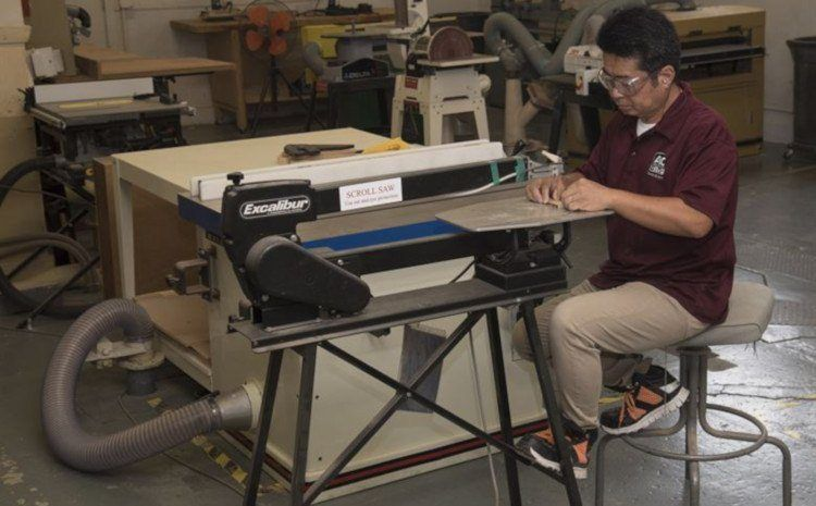 Scroll Sawing Safely